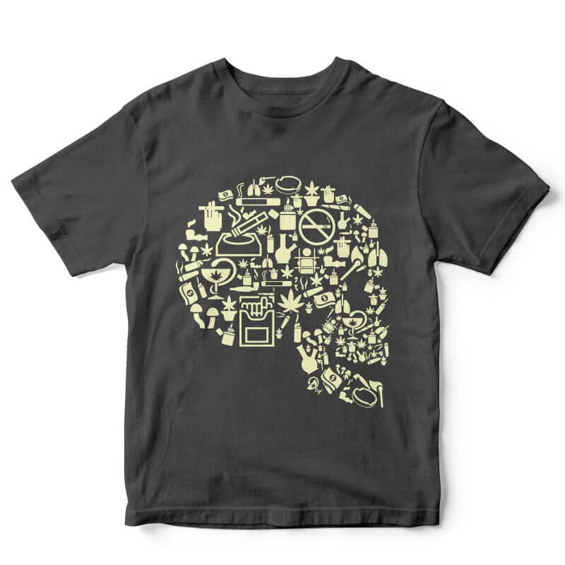Smoking Kills t-shirt design vector t shirt design