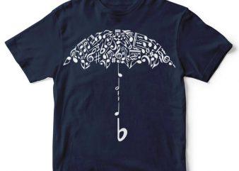 Sound Of Rain t-shirt design