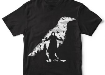 The Crow t-shirt design