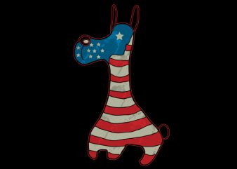 Usa Dog t shirt design for sale