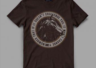 horse 1 challenge shirt design