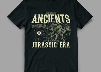 Ancient T-shirt design