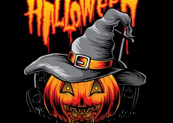 Pumpkins Witch t shirt design for purchase