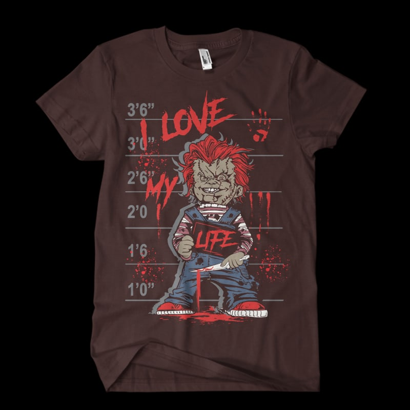 I love my life tshirt design for merch by amazon