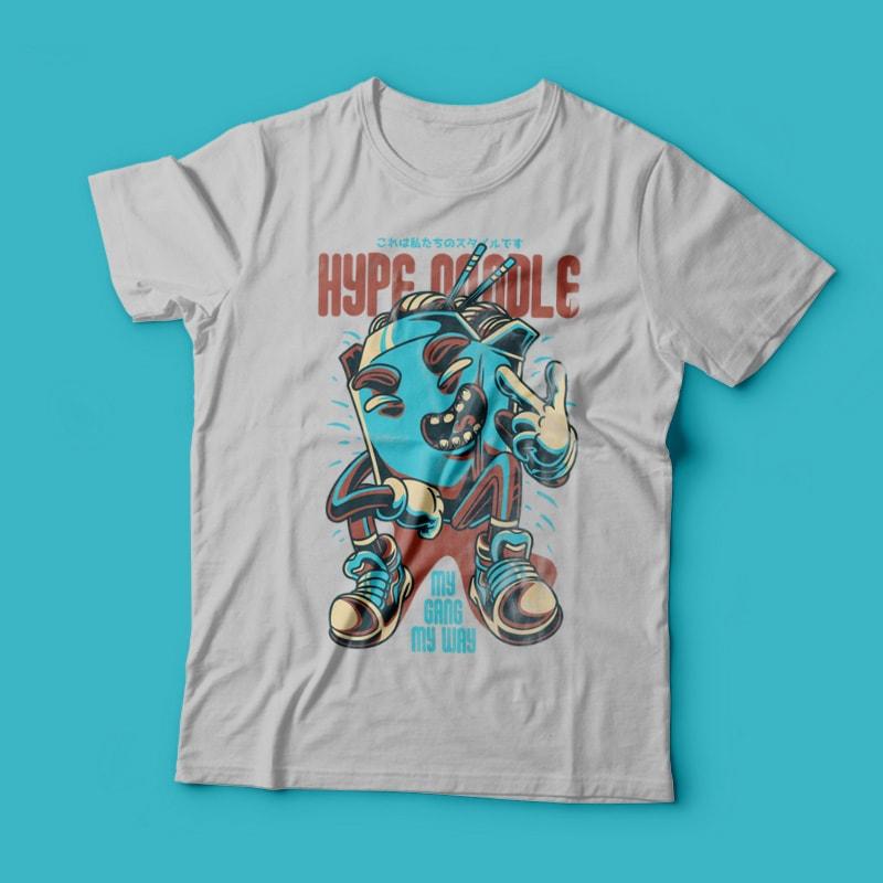 Hype Noodle buy t shirt design