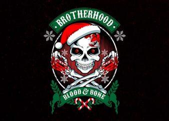 dark brotherhood t shirt vector illustration