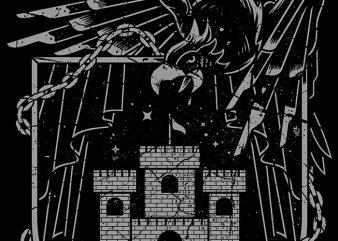 Dark Empire shirt design png