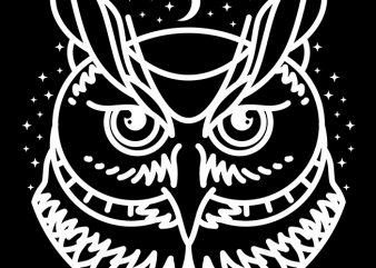 Owl t shirt design online