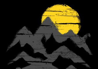 Mountain Ink t shirt designs for sale