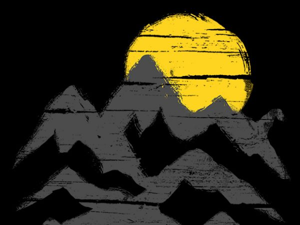 Mountain Ink t shirt design to buy