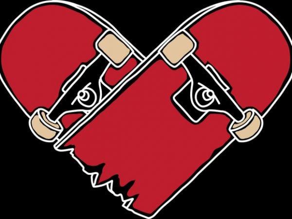Heartboard t shirt design png