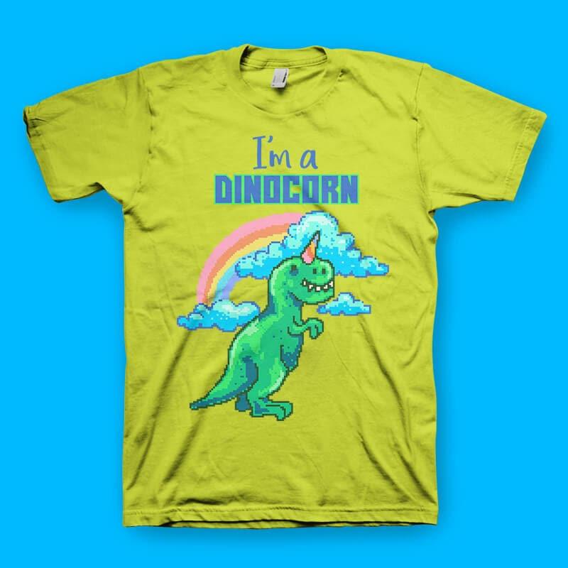 Dinocorn tshirt design tshirt factory