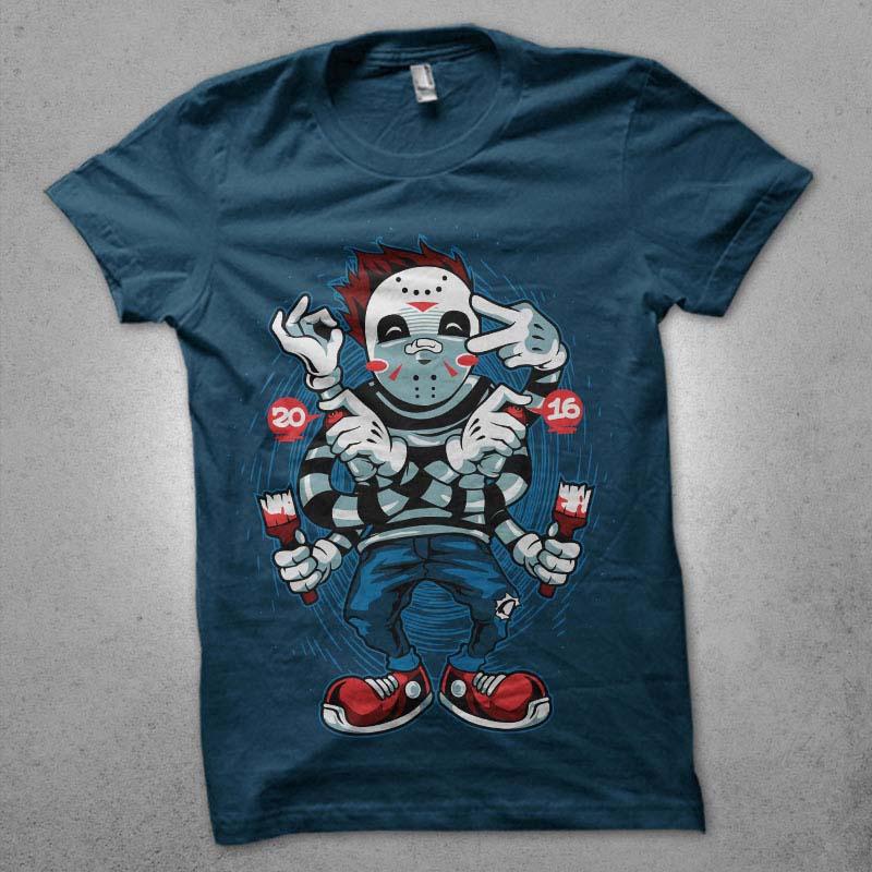 hypno jason vector shirt designs
