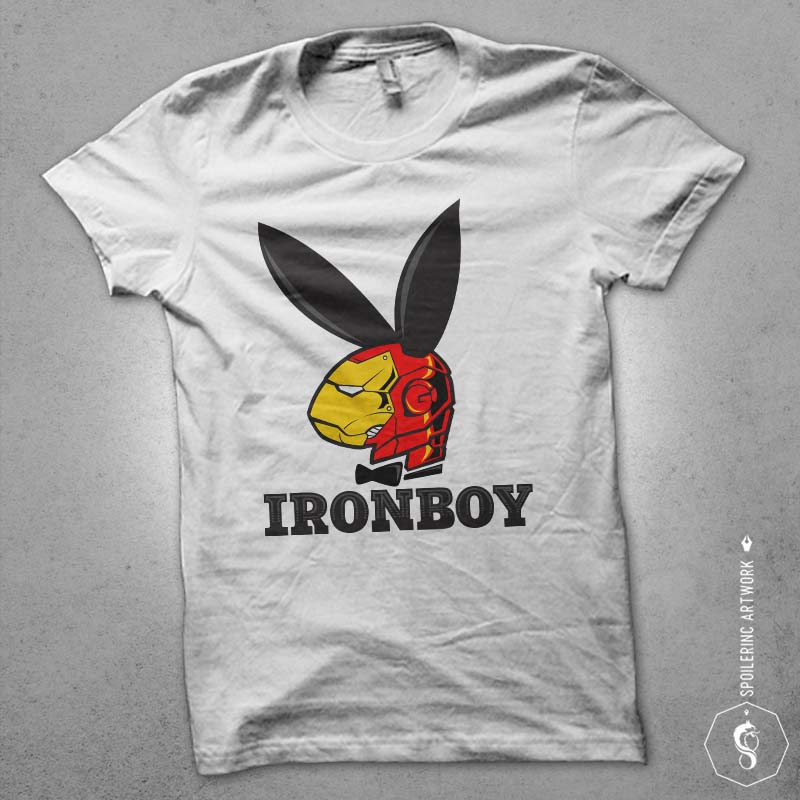 iron boy tshirt factory