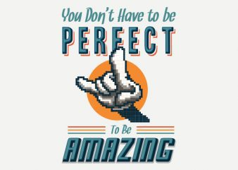 Keep Amazing Vector t-shirt design