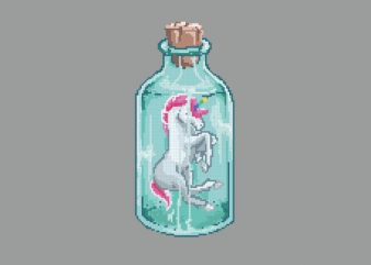 Mini Unicorn tshirt design