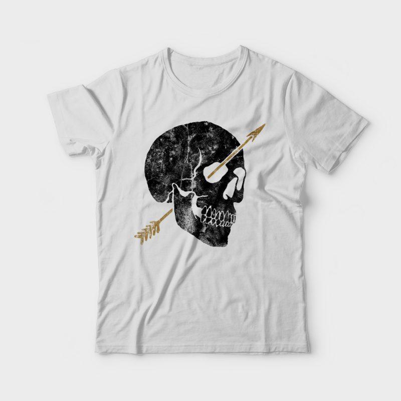 Arrow tshirt design for merch by amazon