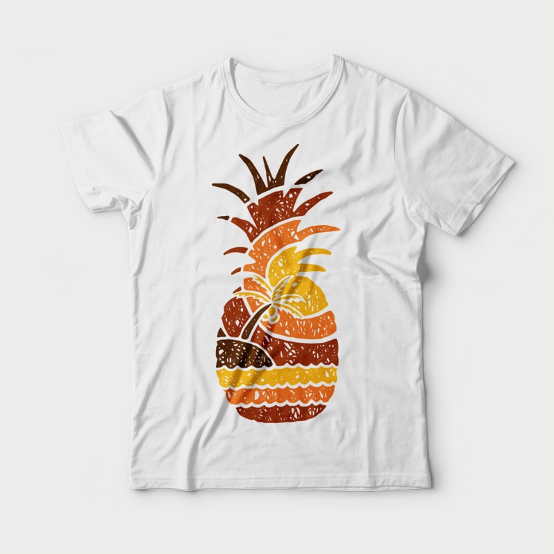 Mountain and Beach t-shirt designs for merch by amazon
