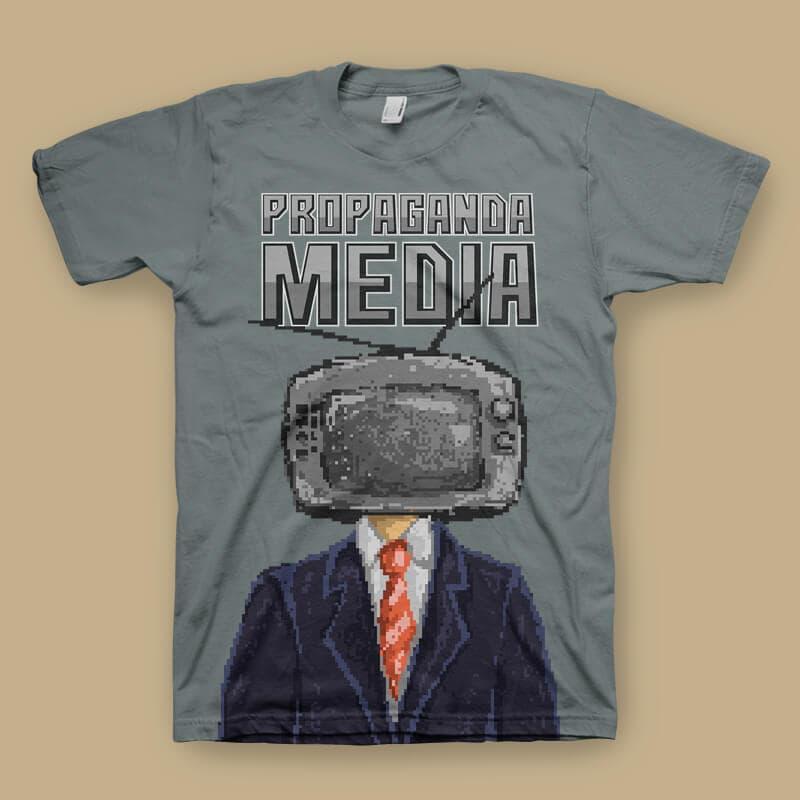Propaganda tshirt design buy tshirt design