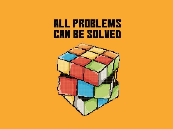Rubik tshirt design