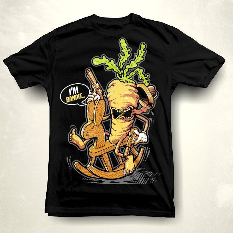 I'M BANDIT tshirt design for sale