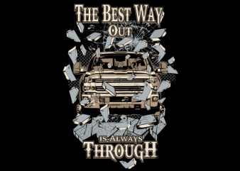 The beast way t shirt designs for sale