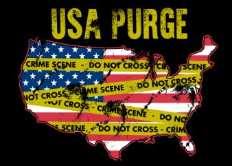 Usa PURGE shirt design