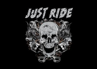 Biker Hot Rod t shirt template
