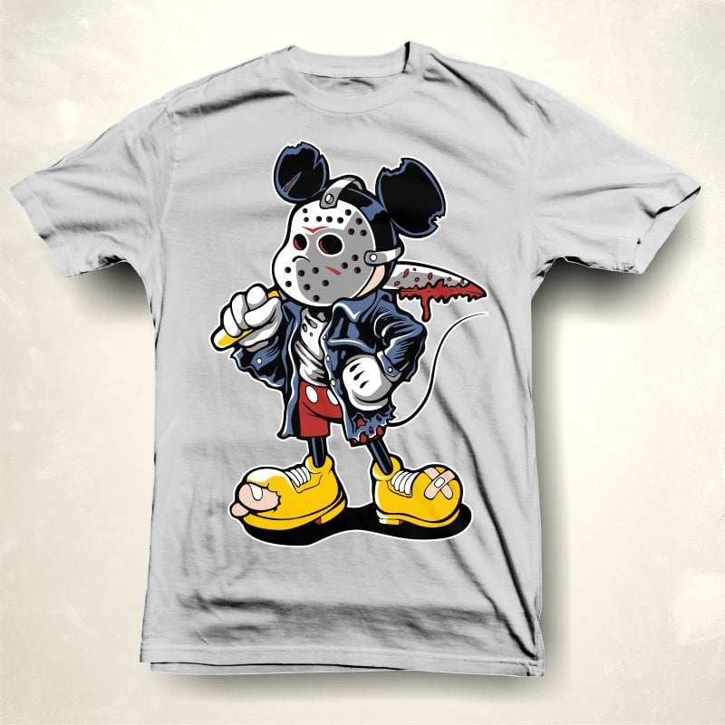 Micky maniac tshirt design for sale