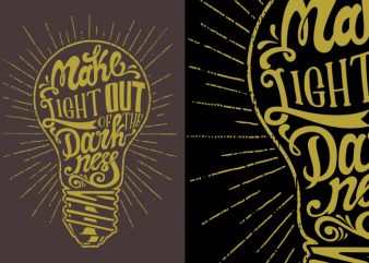 Light out t shirt design to buy