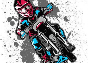 Dirty bike t shirt design for purchase