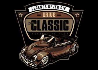 LEGEND NEVER DIE vector t-shirt design template