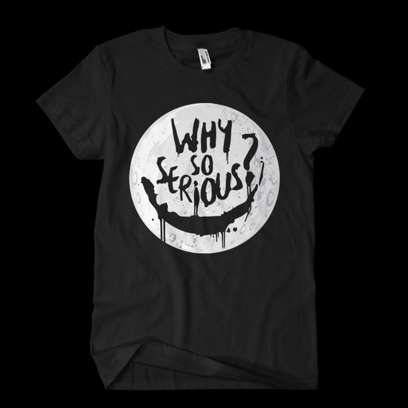 why so serious tshirt factory