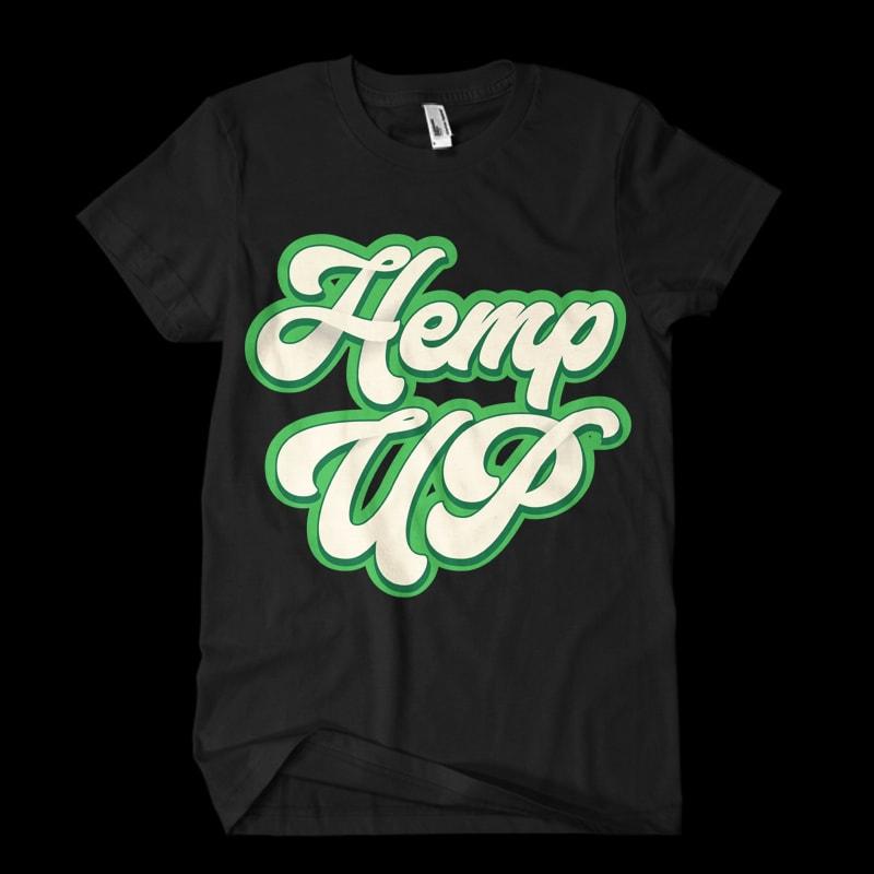 hemp up tshirt factory