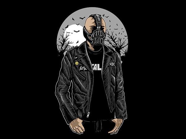 Bane Graphic t-shirt design