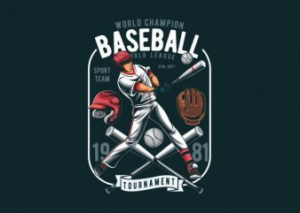 Baseball Vector t-shirt design