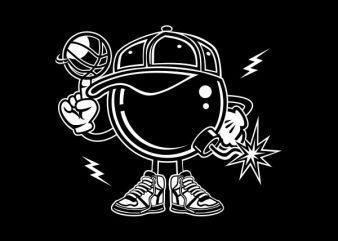 Basketball Bombers Graphic t-shirt design