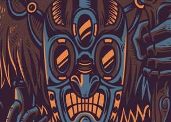 Voodoo People T-Shirt Design