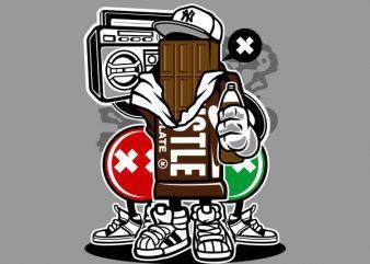 Chocolate Squad Graphic t-shirt design