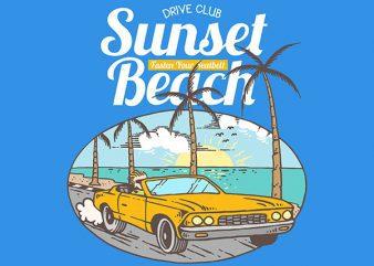 Coast To Coast Vector t-shirt design