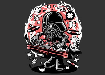 DJ Vader graphic t-shirt design