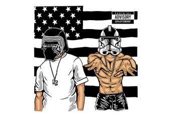 Darkonia Graphic t-shirt design