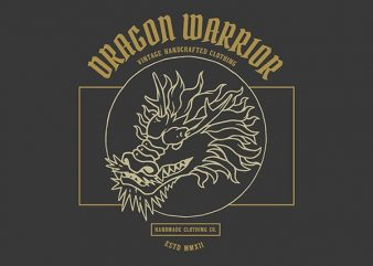 Dragon Graphic t-shirt design
