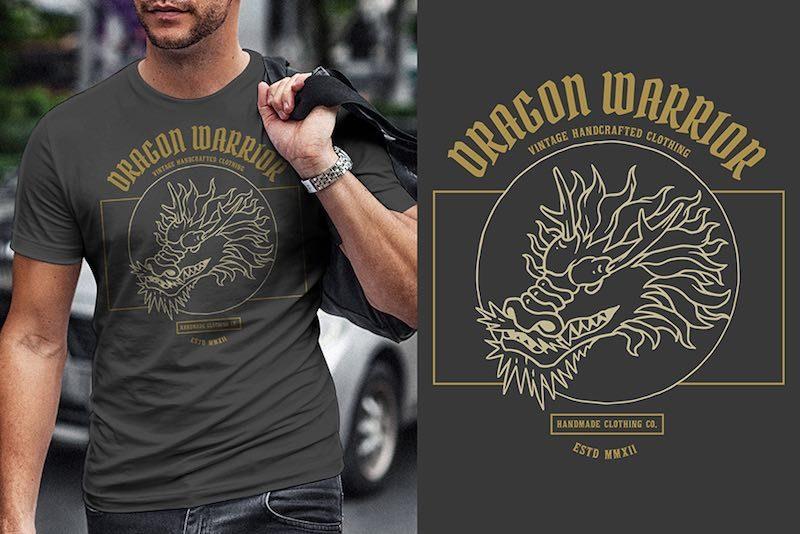 Dragon Graphic t-shirt design buy t shirt designs artwork