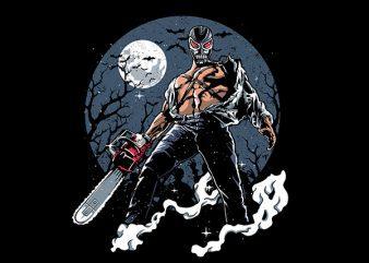 Evil Night Graphic t-shirt design