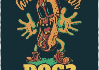 Who's your dog? Vector T-Shirt Design
