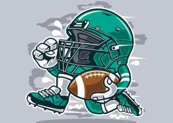 Football Player Vector t-shirt design