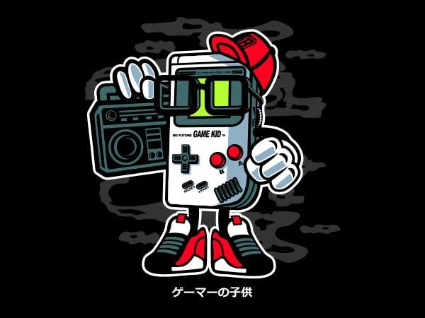 Game Kid Vector t-shirt design