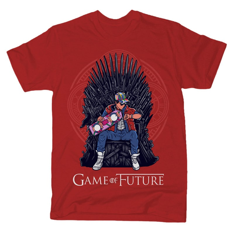 Game Of Future Graphic t-shirt design tshirt designs for merch by amazon