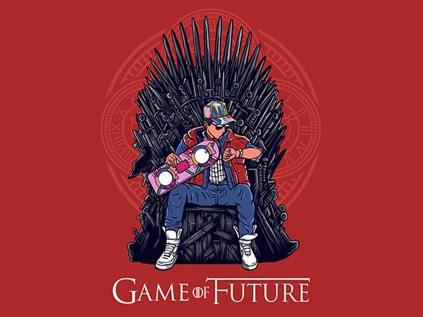 Game Of Future Graphic t-shirt design